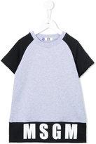 MSGM logo print sweat top - kids - Cotton - 4 yrs