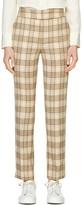 Suistudio Lane Classic Check High Waist Wool Blend Trousers
