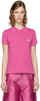 Kenzo Pink Tiger Crest Polo