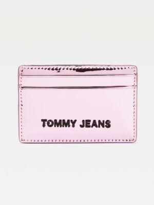 Tommy Hilfiger Metallic Card Holder