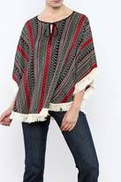 Miss Me Ethnic Print Top
