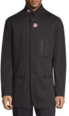 Y-3 Cotton Flower Blazer Jacket