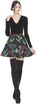 Alice + Olivia Blaize Flare Mini Skirt