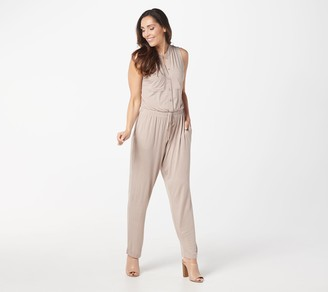 Lisa Rinna Collection Petite Ankle-Length Jumpsuit