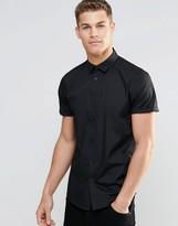 Asos Regular Fit Shirt In Black
