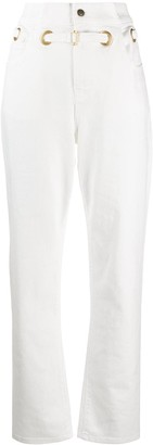 Philosophy di Lorenzo Serafini High-Waisted Belted Trousers