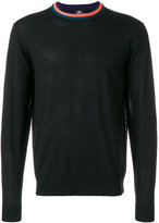 Paul Smith striped crew neck jumper - men - Merino - S