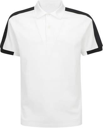 Prada Logo Trim Polo Shirt