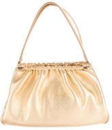 Lambertson Truex Metallic Leather Evening Bag