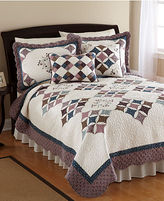 Brita Nostalgia Home Bedding, Twin Quilt