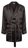 Zimmerli Classic Piping Silk Robe