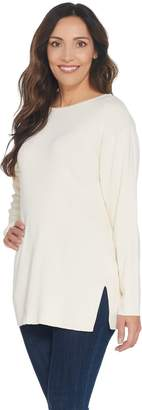 Joan Rivers Classics Collection Joan Rivers Wardrobe Builders Ballerina Neck Sweater
