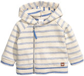 H&M Hooded Jacket - Natural white/striped - Kids
