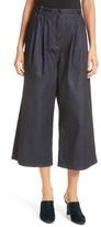 Tibi Women's Sam High Waist Culotte Jeans