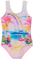 Seafolly Girls' Rainbow Chaser Tank One Piece Swimsuit (2yrs6yrs) - 8133201