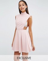 Aq/Aq Aq Aq Sorah High Neck Mini Dress