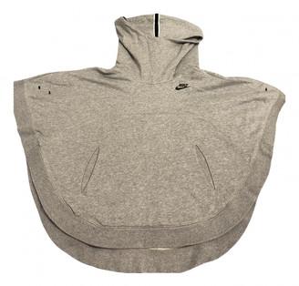 Nike Grey Cotton Knitwear