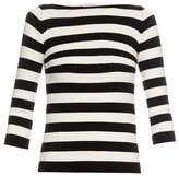 Tomas Maier Striped boat-neck sweater