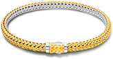 John Hardy Classic Chain Extra-Small Reversible Silver & Gold Bracelet