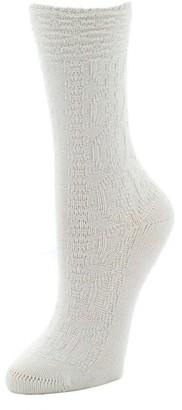 Natori Rib Knit Texture Socks