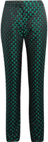Mary Katrantzou Mini Cloud jacquard slim-leg pants