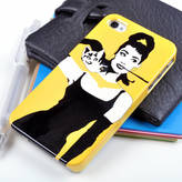 Samsung Giant Sparrows Audrey Hepburn Case For iPhone And