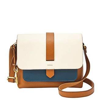 Fossil Women's Kinley Leather Small Crossbody Handbag
