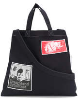 Dreamland Syndicate collage print tote bag