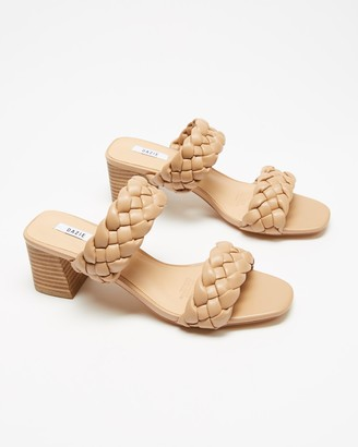 Dazie - Women's Brown Heeled Sandals - Ricky Heels - Size 5 at The Iconic