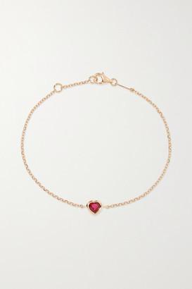 Anita Ko 18-karat Rose Gold Ruby Bracelet - one size