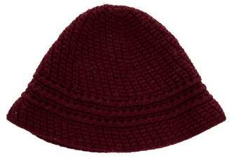 Marc by Marc Jacobs Burgundy Wool Beanie