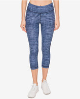 Tommy Hilfiger Cropped Illusion-Detail Leggings, a Macy's Exclusive