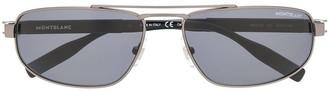 Montblanc Rectangular Frame Sunglasses