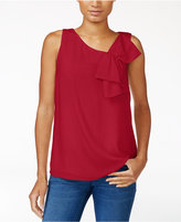 Maison Jules Bow-Detail Top, Only at Macy's