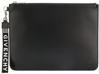 Givenchy Logo Strap Clutch