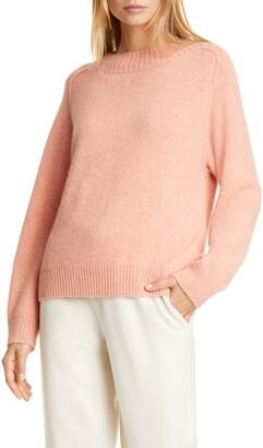 Vince Raglan Sleeve Cashmere & Silk Sweater