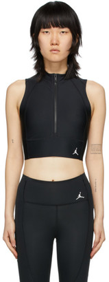Jordan Black Body Con Tank Top
