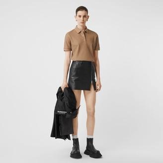 Burberry onogra otif Cotton Pique Polo Shirt