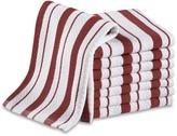 Williams-Sonoma Classic Striped Dishcloths, Claret