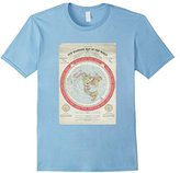 New Standard Map of The World T-shirts