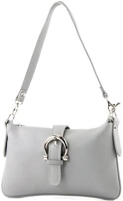 Modamoda De Italian handbag shoulder bag tote bag messenger bag real leather bag T05