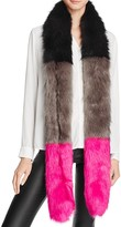 Cara Accessories Color-Block Stole - 100% Bloomingdale's Exclusive