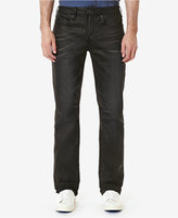 Buffalo David Bitton Men's Six-X Slim-Straight Fit Dark Coated Jeans