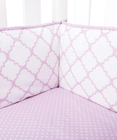 Trend Lab Lilac Orchid Bloom Crib Bumpers