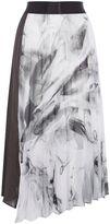 Coast Samira Printed Metallic Skirt