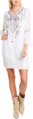 Johnny Was Chiara Linen Shift Dress