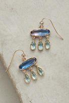 Anthropologie Ombre Flutter Drop Earrings