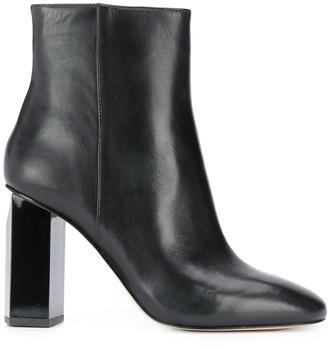 MICHAEL Michael Kors chunky-heel round-toe boots