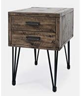 Randwick 2 Drawer End Table Union Rustic