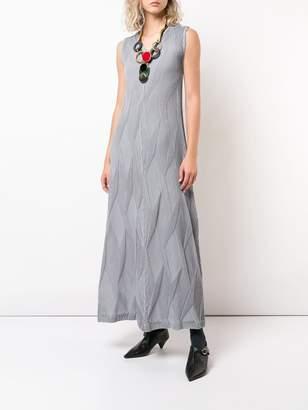 Issey Miyake textured pleat dress